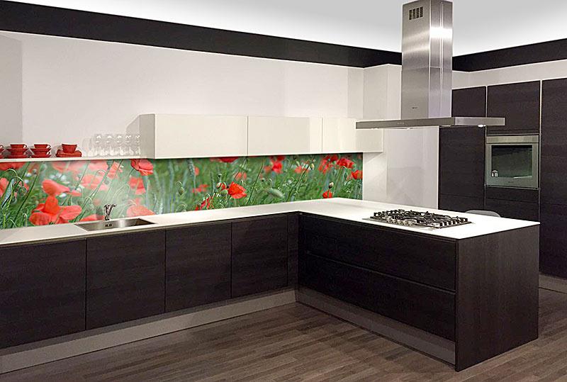 Keuken met foto