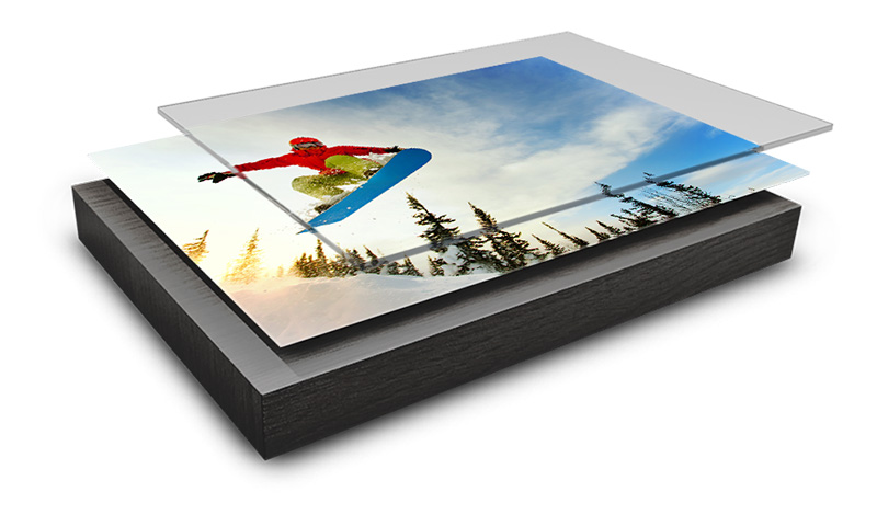 Acrylic panel lagen