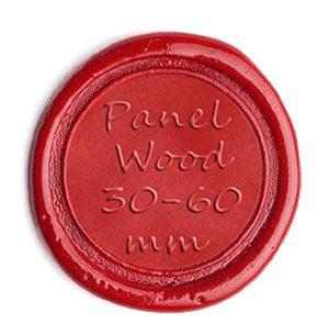 Stempel Panel Wood 30 60mm